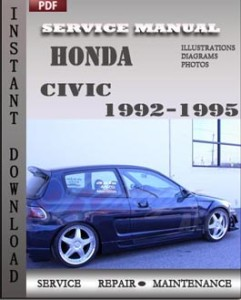 Honda Civic 1992-1995 global