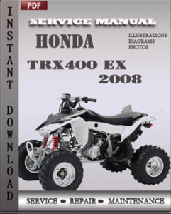 Honda Trx400 EX 2008 global