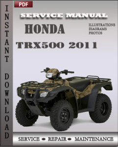Honda Trx500 2011 global
