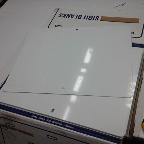 Aluminum Sign Blanks