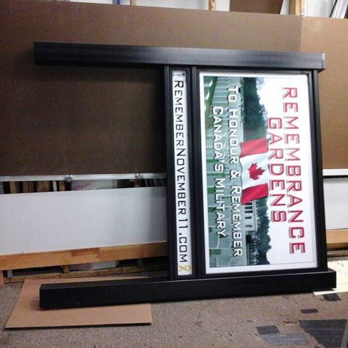 Post & Panel Frame