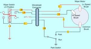 Windshield Wiper Motor Wiring Diagram  Somurich
