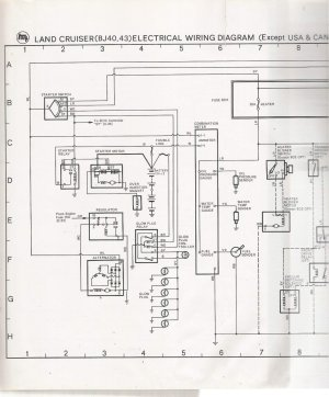 electrical schematic for 78 bj40 LHD   IH8MUD Forum