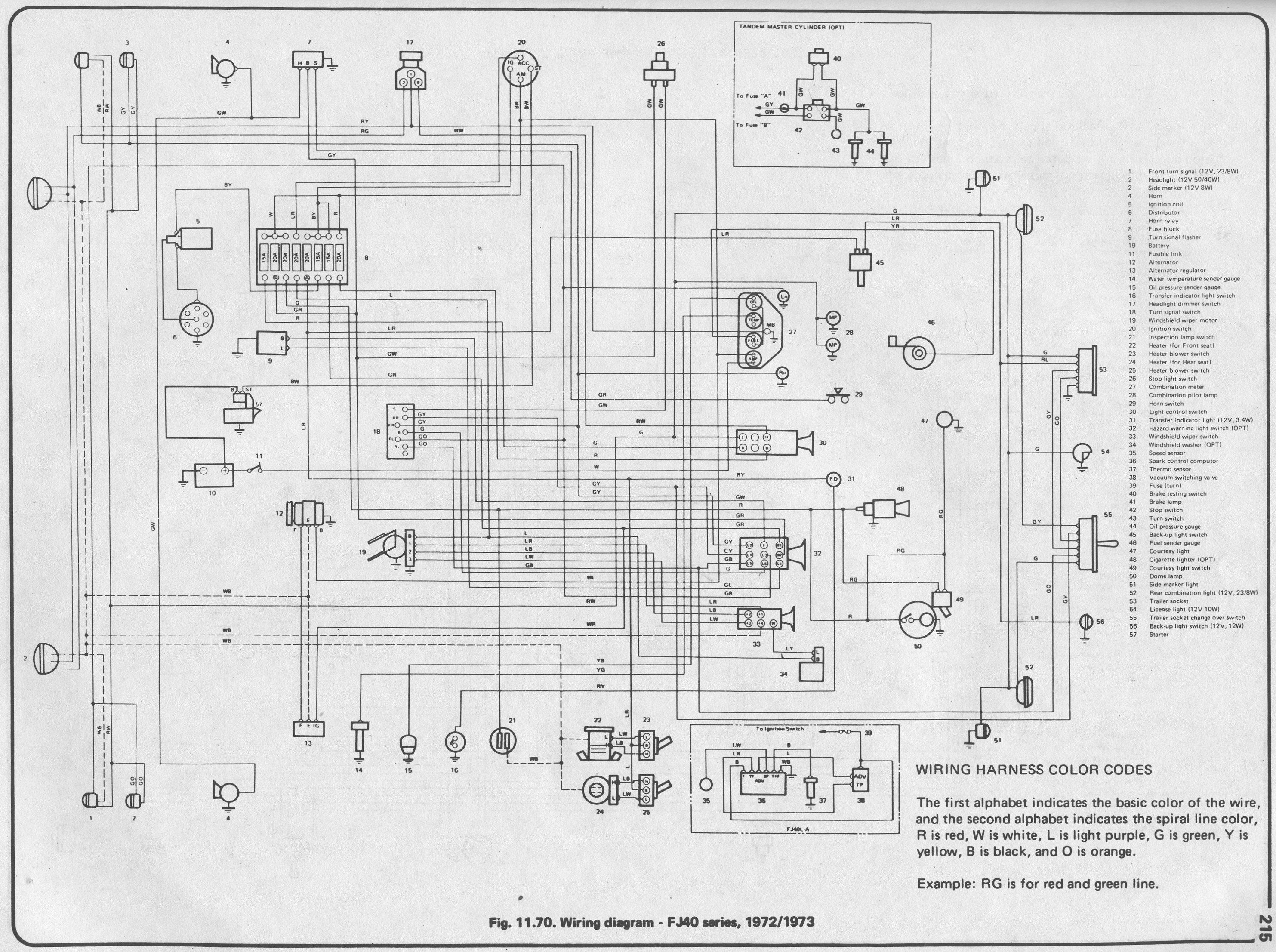 Lights Wiring Diagram For Landcruiser