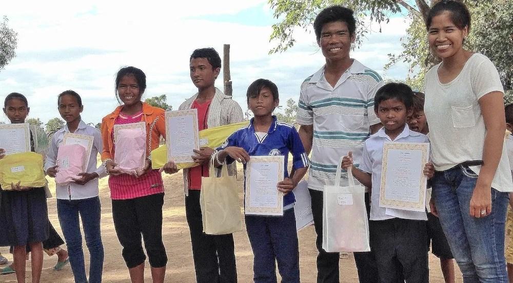 Children ceremony in Cambodia