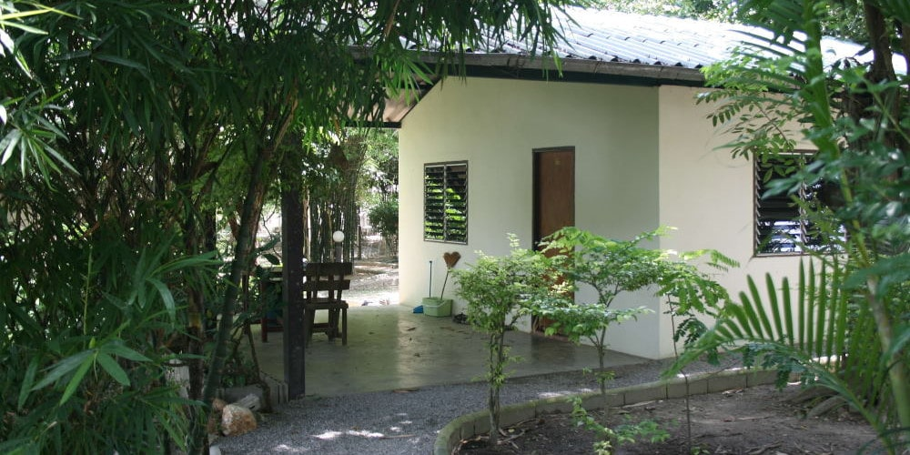 Volunteer bungalow at the Thailand Elephant Sanctuary