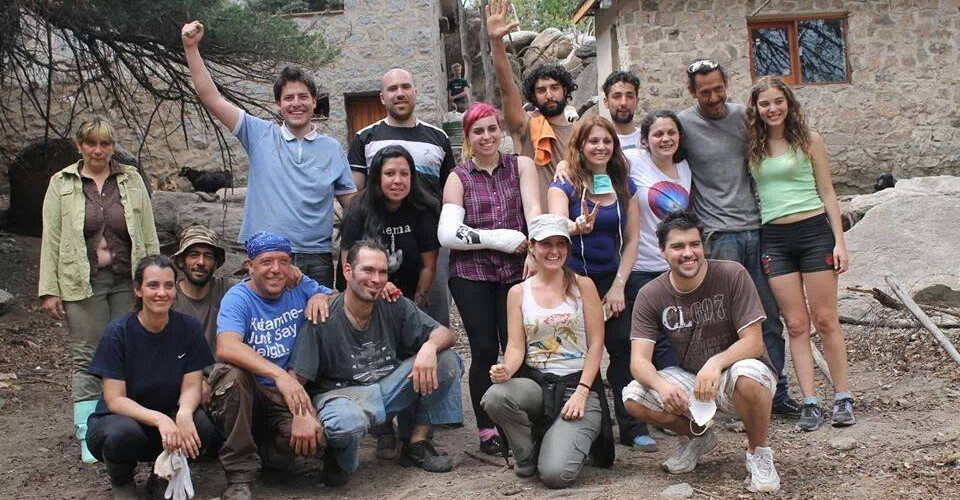Volunteers at the Argentina Howler Monkey Project