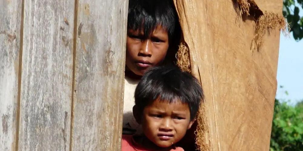 Bunong children in Cambodia