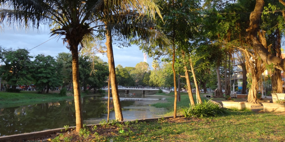 Siem Reap's river