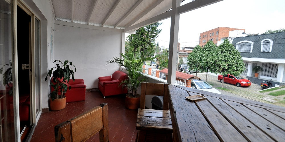 Volunteer accommodation in Medellin