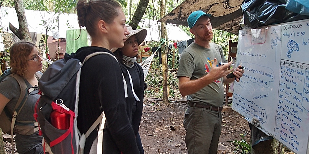 Planning the volunteer duties