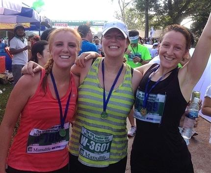 Cambodia Globalteer Staff complete Siem Reap marathon