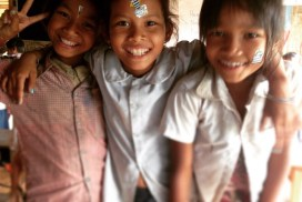 Cultural Exchange with Kids Cambodia