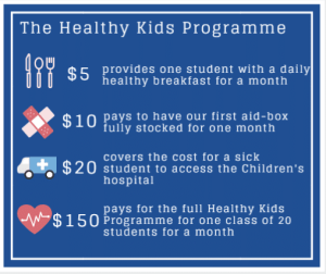 Healthy Kids Programme Cost Breakdown