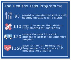 Healthy Kids Programme Cost Breakdown