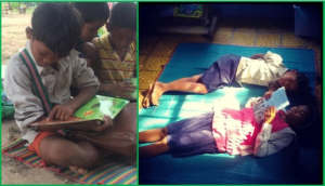 Reading Club at Helping Hands