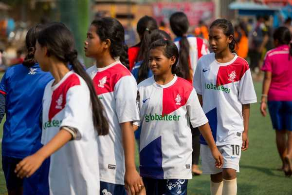 Girls and sport in Cambodia