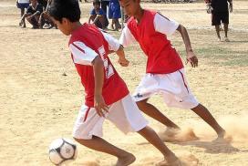 Soccer league in Siem Reap