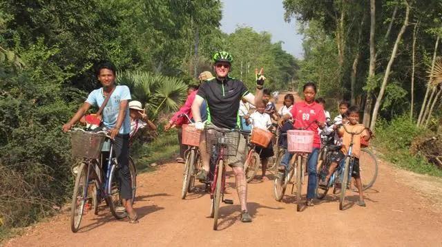 John Connel Cambodia Community Project Volunteer