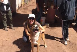 Volunteer at the dog project in Cusco