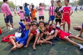 Kids Sports Program Cambodia