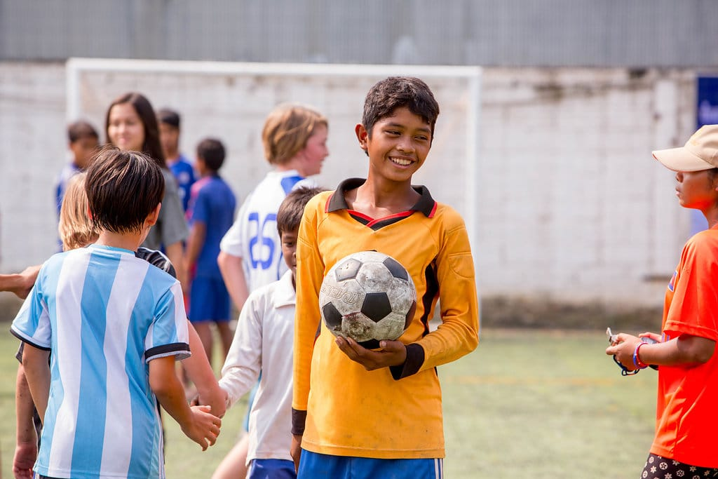 Volunteer at the Cambodia Kids Sports Project