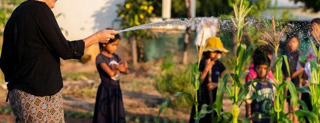 Cambodia farming project