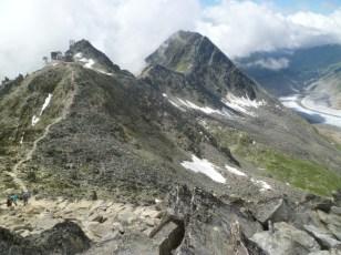 The Bettmerhorn-Eggishorn ridge