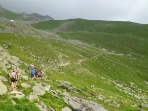 Easier mountain trails near Bettmeralp