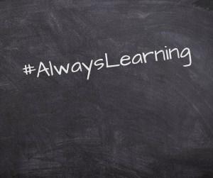 #AlwaysLearning