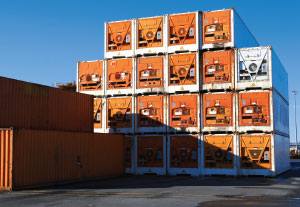 REEFER MADNESS Refrigerated containers, or reefers, are a key cog in the cold chain. The trick is maintaining visibility and temperature controls from origin to destination.
