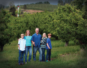 FAMILY TREES Pete Verbrugge has been exporting apples, pears and cherries grown on his family-owend Washington orchards  for decades.