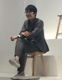 OKI SATO The Nendo designer on the Emeco stool he designed.
