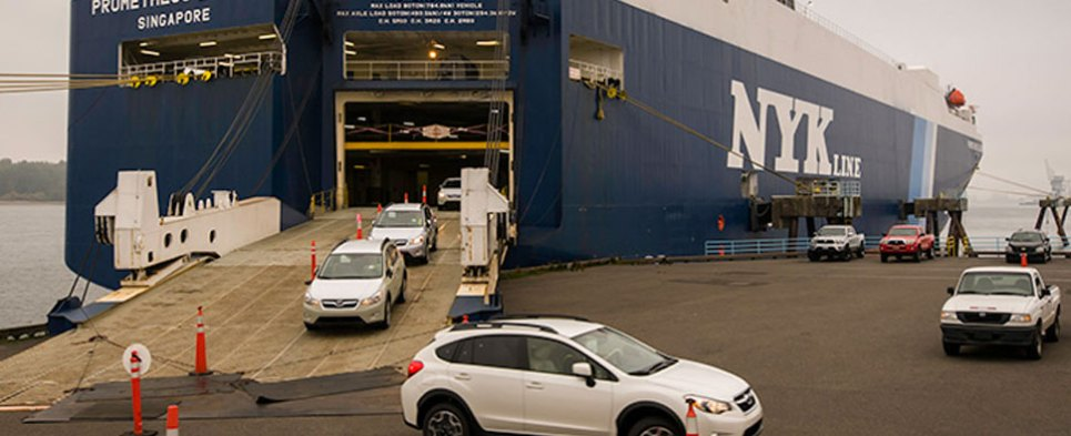 Subaru has extended its lease with the Port of Vancouver USA to utilize the port's Terminal 4 roll-on/roll-off auto dock, leased auto-processing facility, and cargo-staging area to both import and export its vehicles.