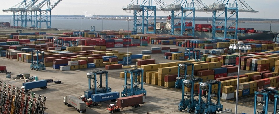 Expansion of Norfolk International Terminals would allow Virginia port tpo handle higher volumes of import cargo and export cargo in international trade.