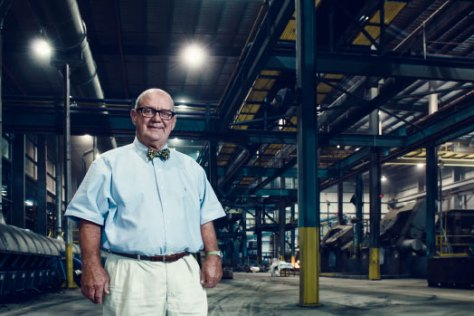 HARD BOILED Bob Kellermann is the 4th generation CEO of Lodge Cast Iron, and has been with the company for 46 years.