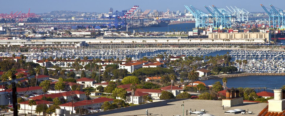 Port of Long Beach handled more shipments of export cargo and fewer shipments of import cargo in international trade in October.
