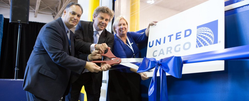 Opening of newark hub will allow United to handle more temperature-controlled shipments of export cargo and import cargo in international trade.