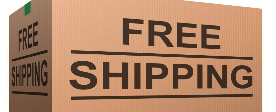Offering free shipping and returns by retailers yield more shipments of export cargo and import cargo in international trade.