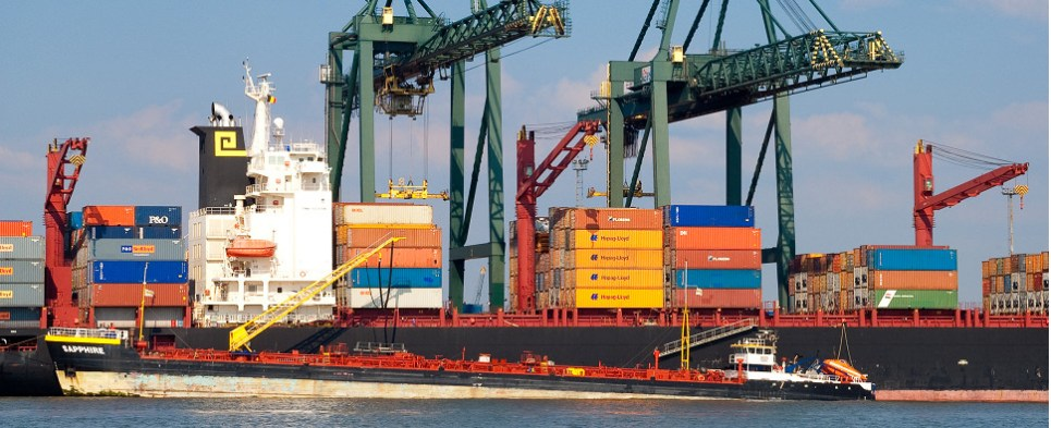 Antwerp's Ahlers handles shipments of export cargo and import cargo in international trade.