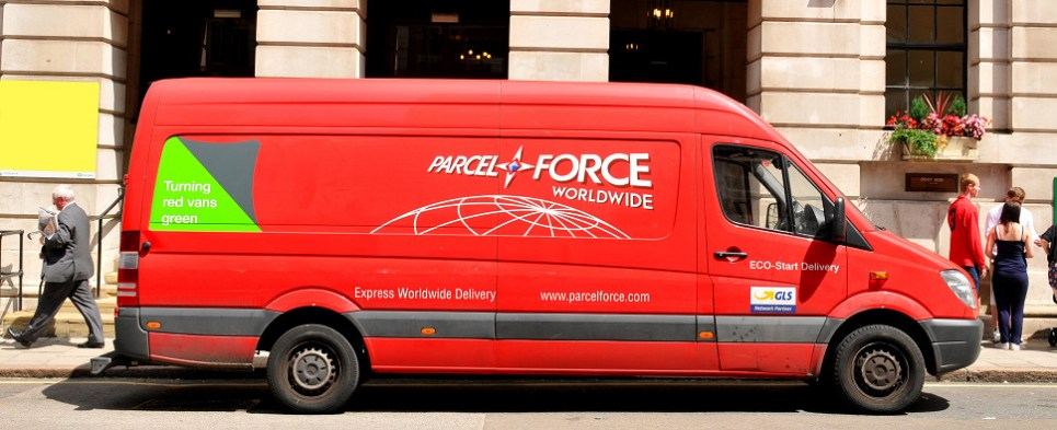New Parcelforce ecommerce returns service handled shipments of export cargo and import cargo in international trade.