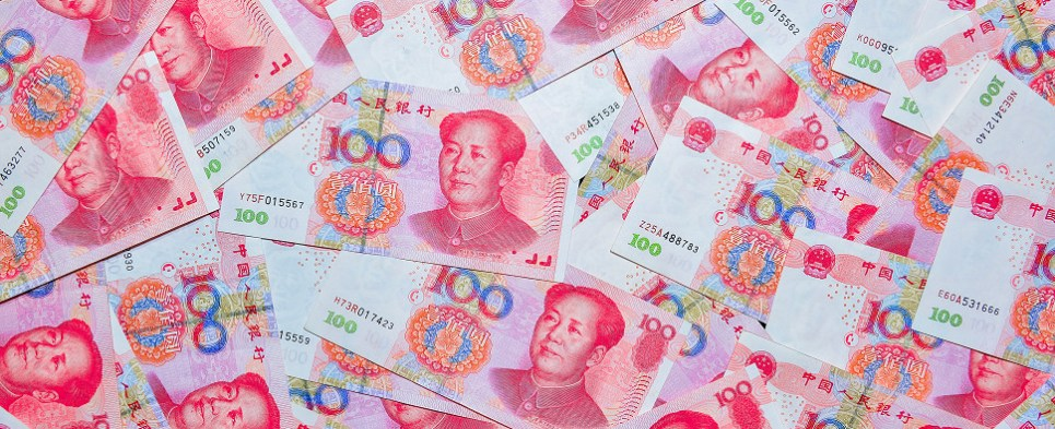 China promoting RMB as currency for transactions involving shipments of export cargo and import cargo in international trade.