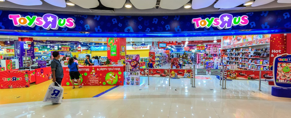 "Toy""R""Us expansion in China involves more shipments of export cargo and import cargo in international trade."