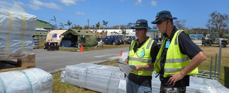 Deutsche Post DHL Group helped with disaster relief in Fiji with shipments of export cargo and import cargo in international trade.