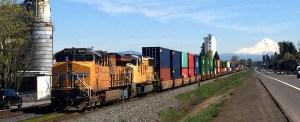 Portland, Oregon, Upriver Barge-Rail Proves Effective