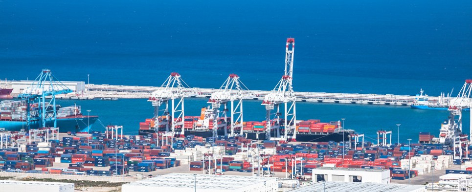Expansion of Tangier port will allow it to handle more shipments of export cargo and import cargo in international trade.