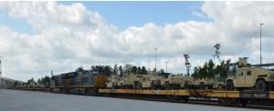 First Trains Arrive at JAXPORT's New Rail Terminal