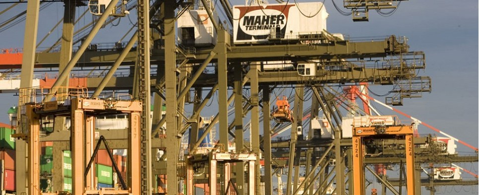 Maaher Terminals move two million TEU of shipments of export cargo and import cargo in international trade.