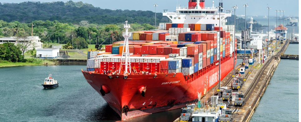 Panamax vessels will be carrying fewer shipments of export cargo and import cargo in international trade.