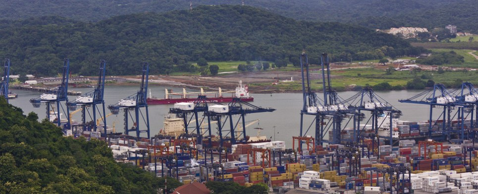 New Panama port will handle shipments of export cargo and import cargo in international trade.